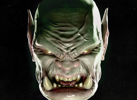 Artists' Reveal #5 - Our First Orc, Courtesy of Emil Wickman