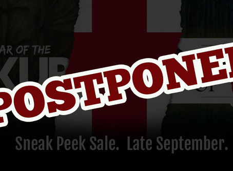 Sneak Peek Sale Postponed