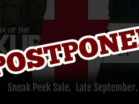 Sneak Peek Sale Postponed