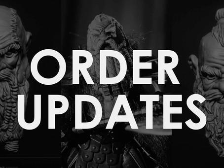 Order Updates!