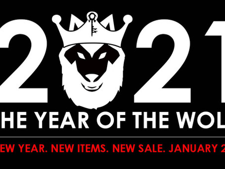 2021 - The Year of the Wolf
