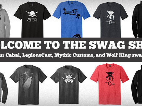 The Swag Shop is now OPEN!