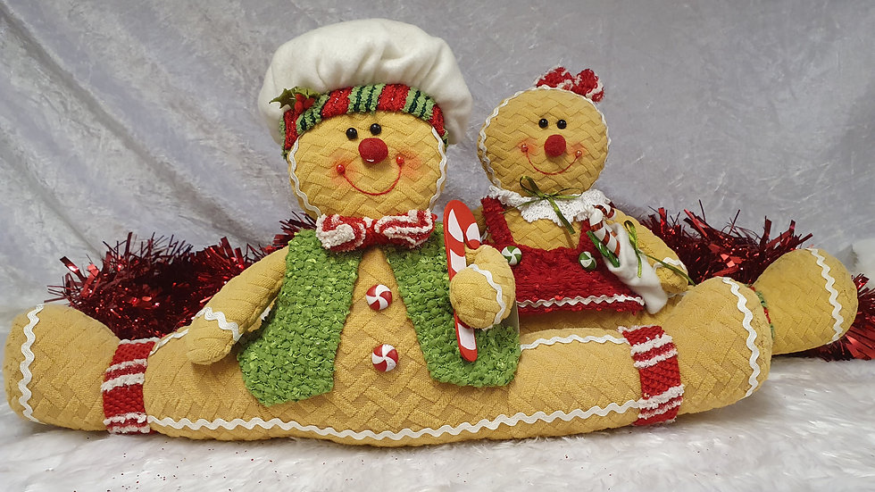 Christmas workshop Gingerbread doorstop