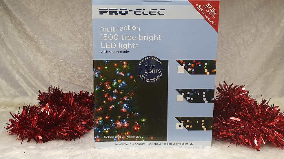 Pro-Elec 1500 multi-action tree bright LED lights