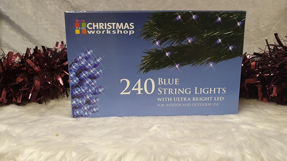 Christmas workshop 240 string LED lights
