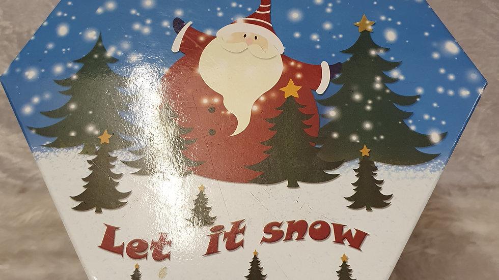 Let it snow Bauble set