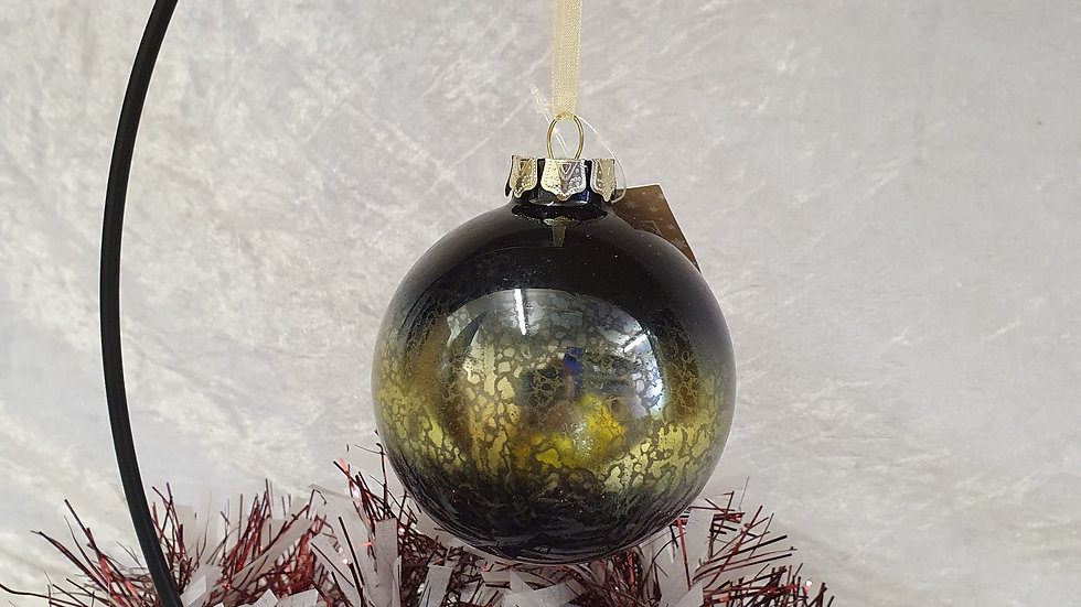 Patterned Glass Baubles