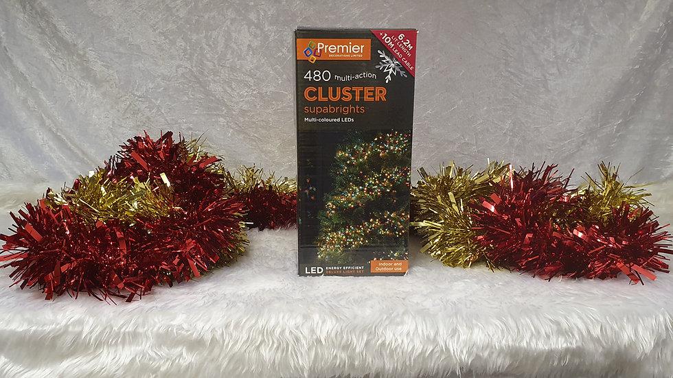Premier 480 multi-action cluster supabrights LED lights