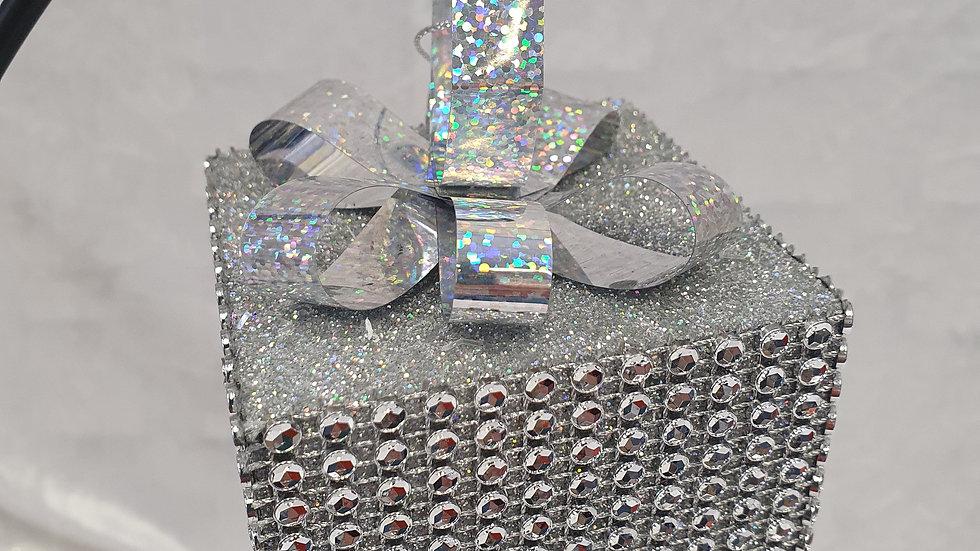 Decorative Silver Parcel
