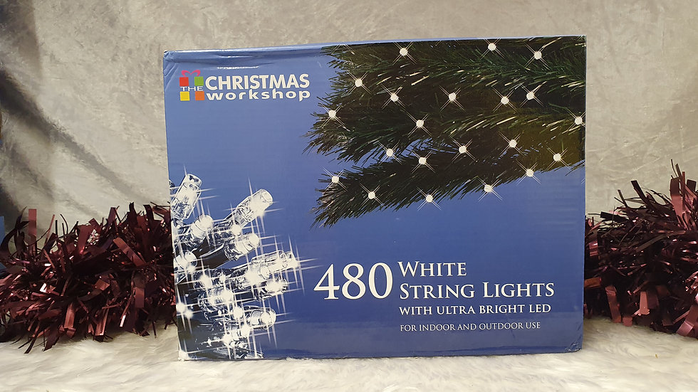 Christmas workshop 480 string LED lights