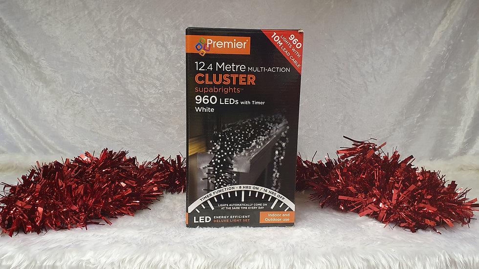 Premier  960 multi-action cluster supabrights LED lights timer