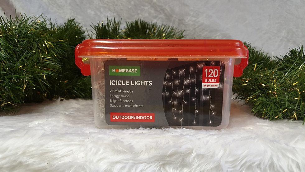 Homebase 120 icicle lights
