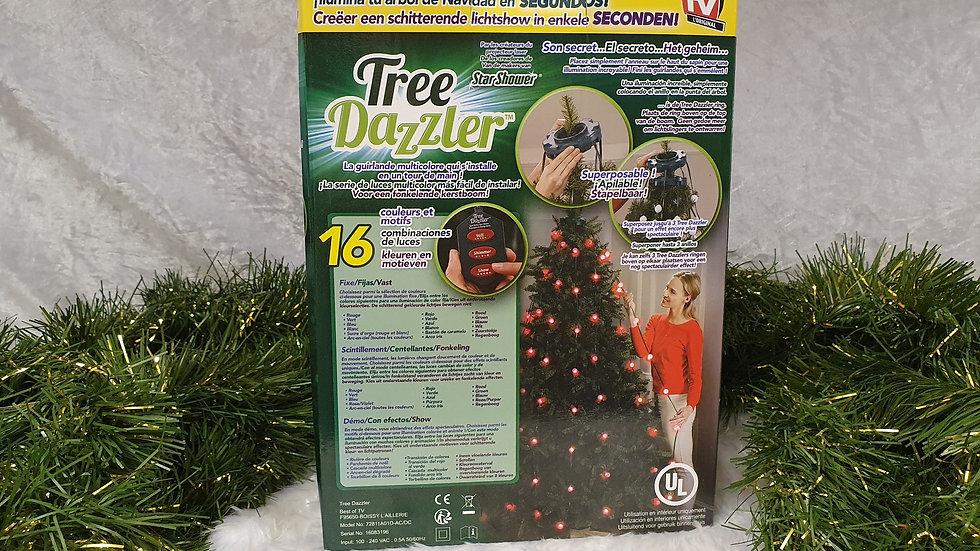 "Tree Dazzler ""star shower"" Christmas tree lights"