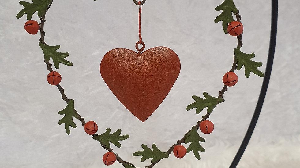 Gisela Graham Jingle bell Heart