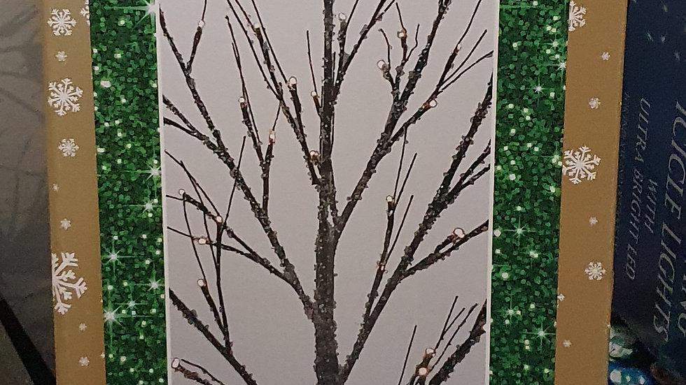 Christmas Wonderland Icing Sugar Twig Tree