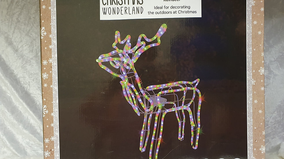 Christmas Wonderland Multi-colour Moving Deer