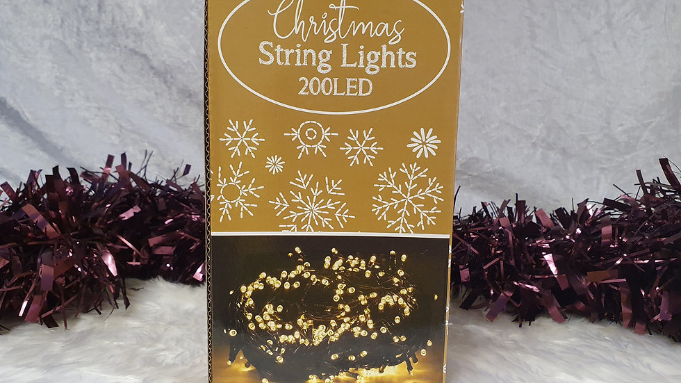 Christmas string lights 200 LED multi-function