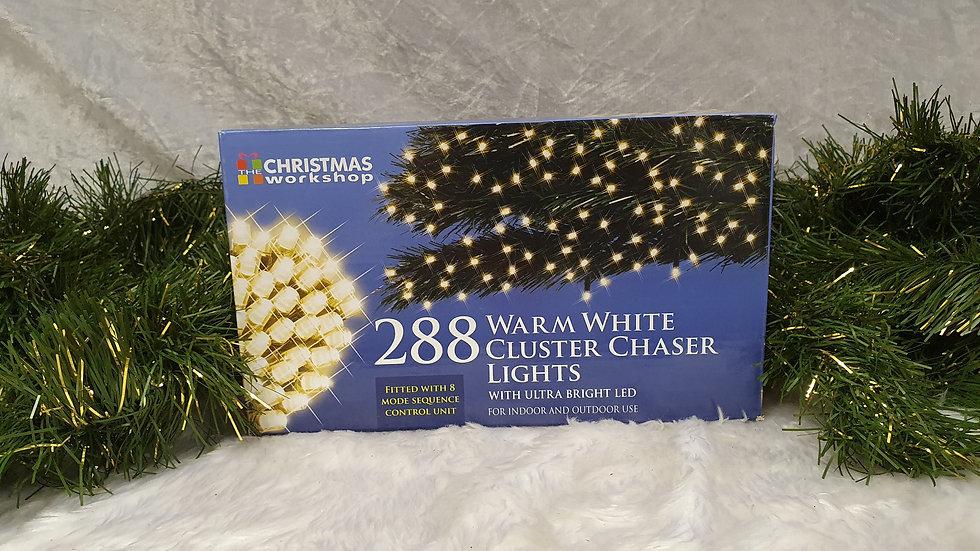 Christmas workshop 288 cluster chaser LED lights