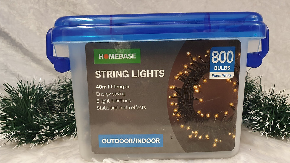 Homebase 800 LED string lights