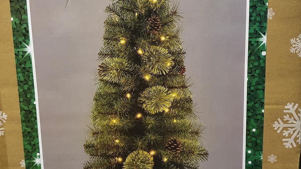 Christmas Wonderland 4ft/1.2m cashmere potted pre-lit tree