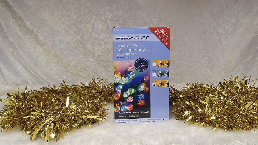 Pro-Elec 360 multi action super bright LED Lights, with timer