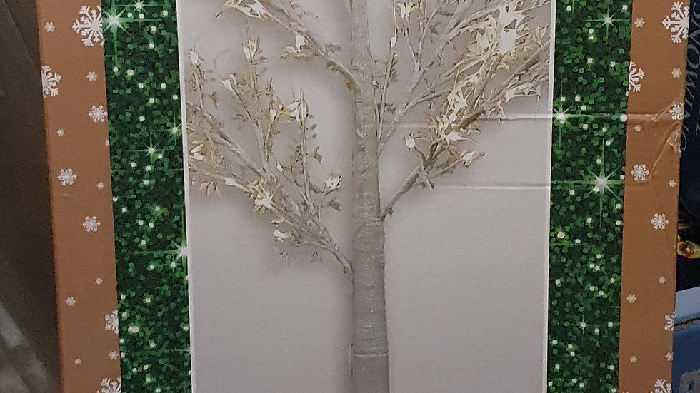 Christmas Wonderland White Foliage Twig Tree