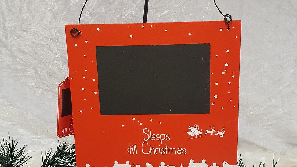 Sleeps til Christmas Chalkboard