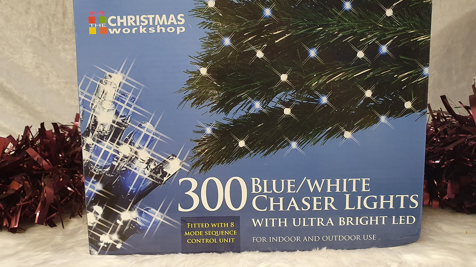 Christmas workshop 300 chaser LED lights