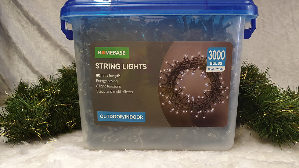 Homebase 3000 LED string lights