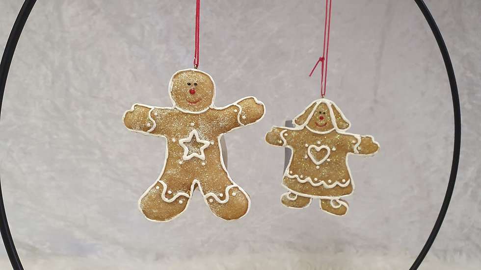 Mr and Mrs Gingerbread