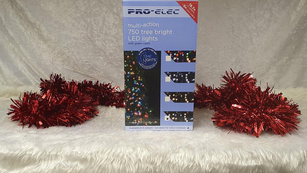 Pro-Elec 750 multi-action tree bright LED lights