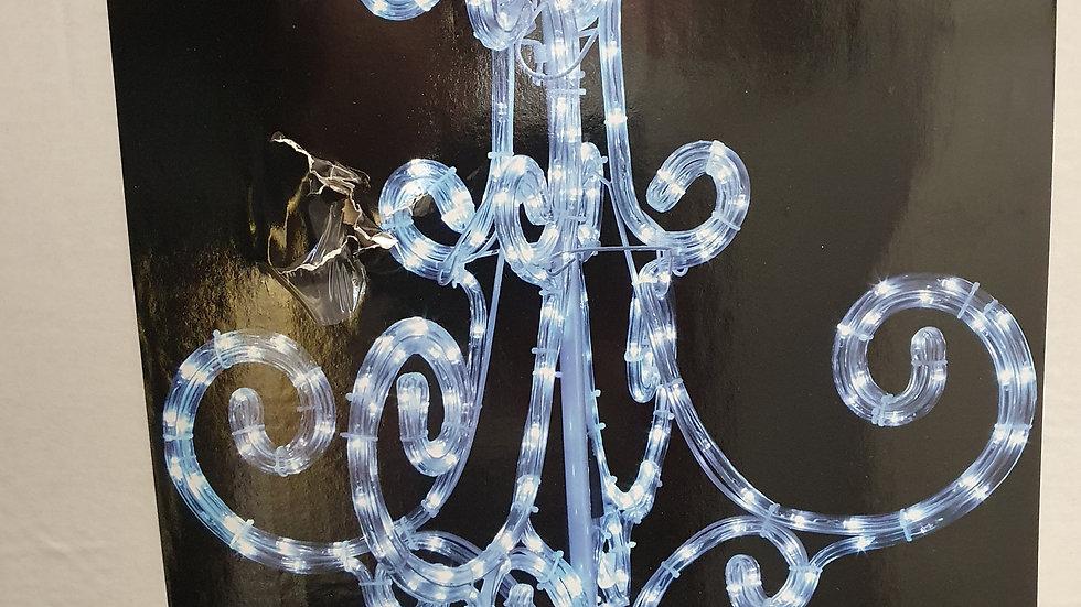 Premier 60cm led rope light twinkling chandelier