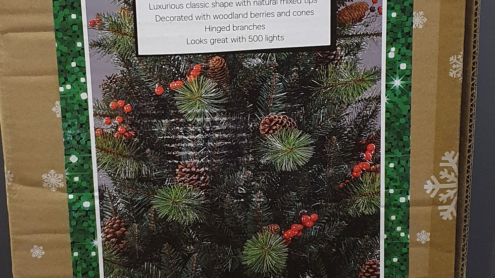 Christmas Wonderland 7ft/2.1m rocky ridge tree