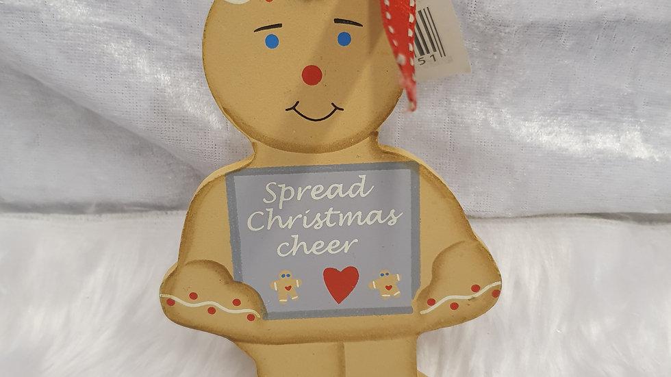 Gingerbread Plaque