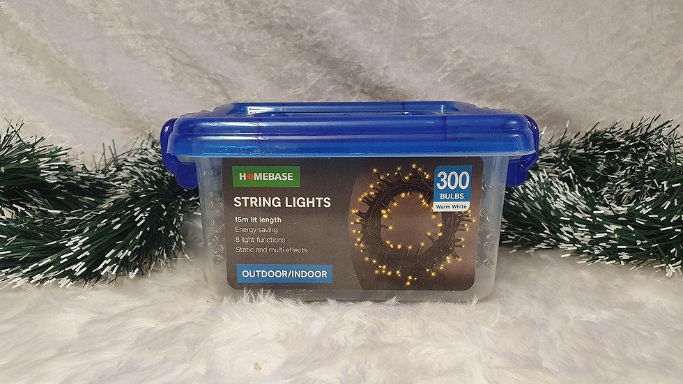 Homebase 300 LED string lights