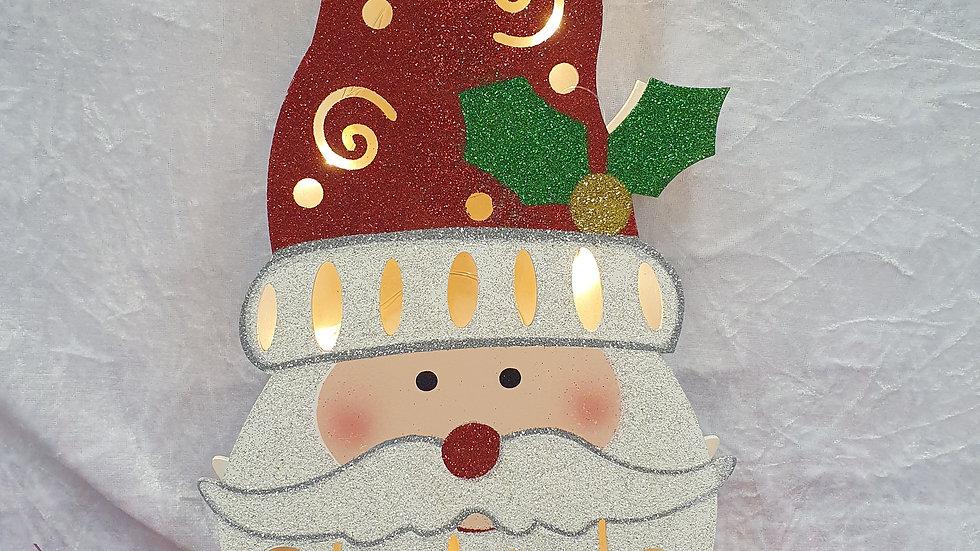 Light Up Hanging Santa