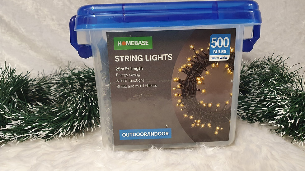 Homebase 500 LED string lights
