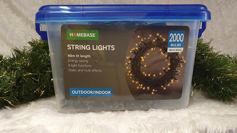 Homebase 2000 LED string lights