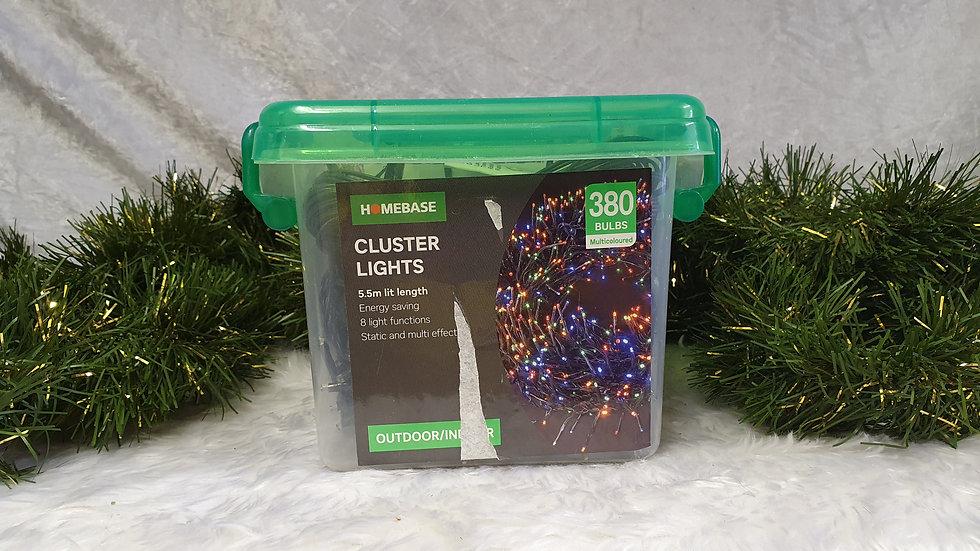 Homebase 360 LED cluster lights