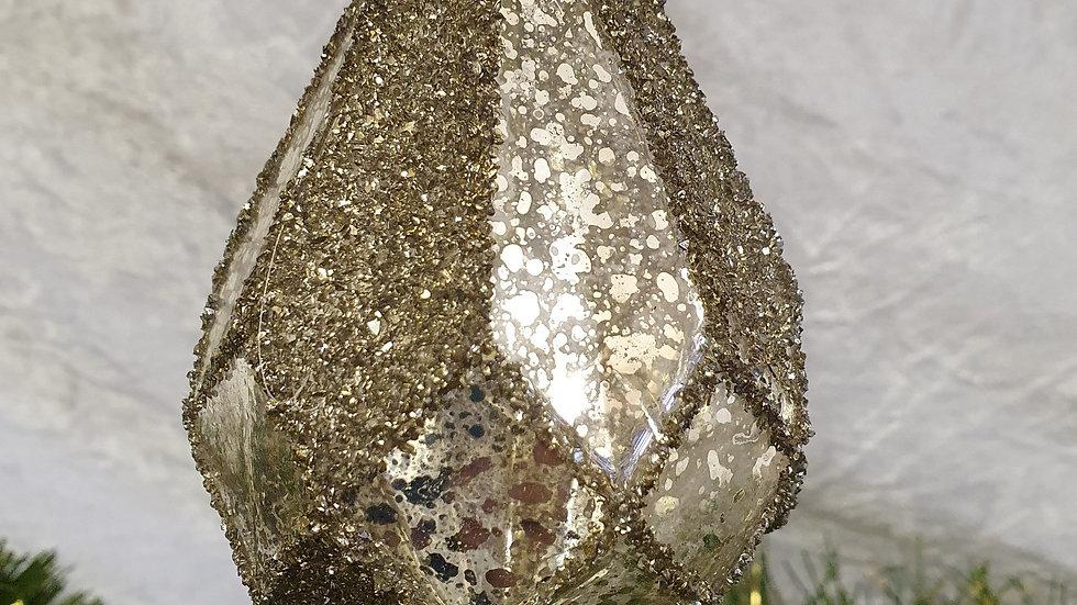 Gold diamond Bauble