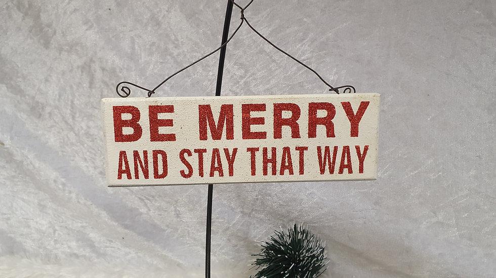 Festive Message Plaques