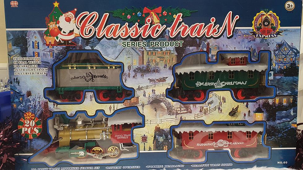 Premier 20pcs Christmas Train Set