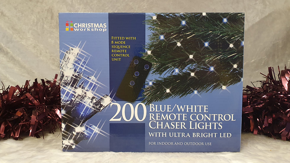 Christmas workshop 200 remote control chaser LED lights
