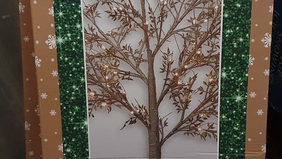 Christmas Wonderland Gold Foliage twig tree