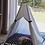 Thumbnail: 70x70cm Beyaz Köpek Çadırı