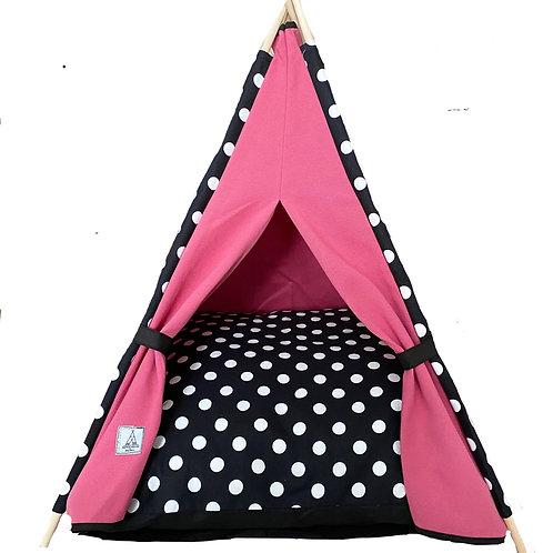 70x70 cm Pembe Kedi Çadırı