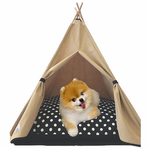 70x70cm Bej Köpek Çadırı