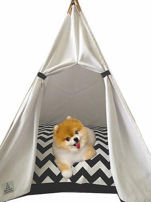 70x70cm Beyaz Köpek Çadırı