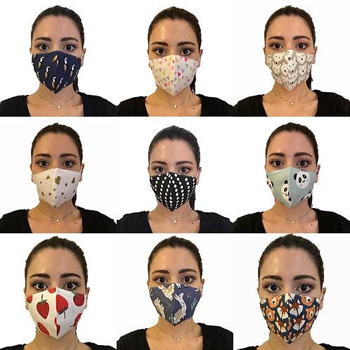 Yıkanabilir Pamuklu Maske