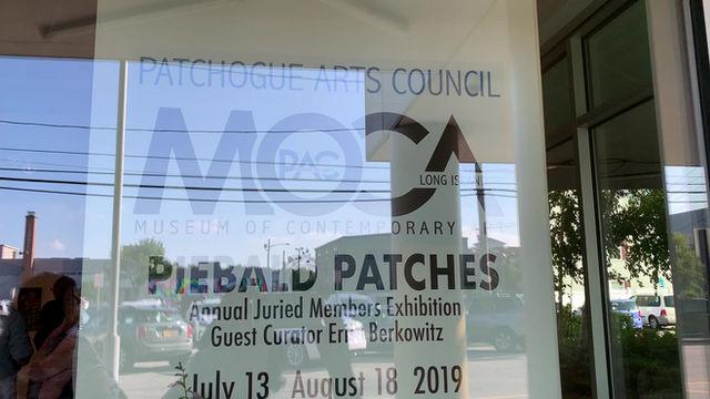 MOCA Museum of Contemporary Art Piebald Patches Exhibit